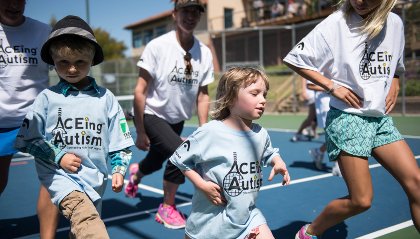 Tennis.com reports – ACEing Autism teams up with PlayYourCourt to promote tennis for everyone