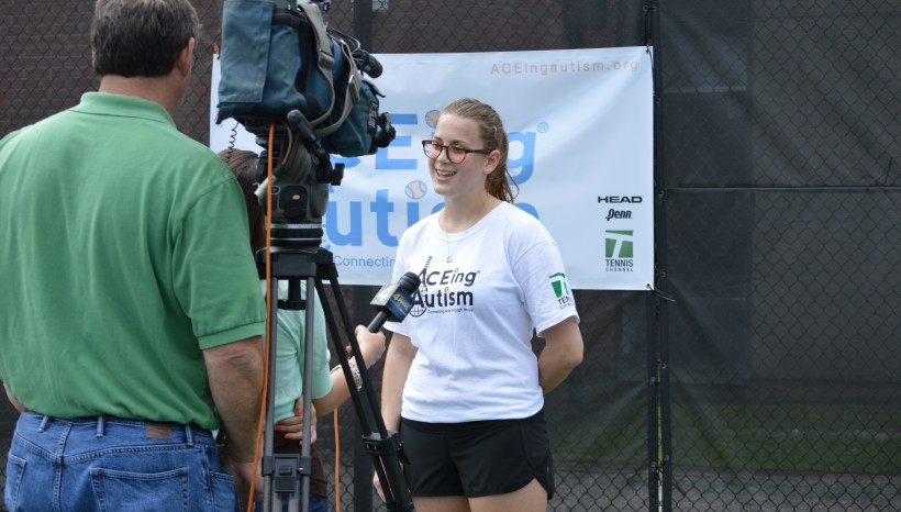 Tennis enriches lives of children with autism