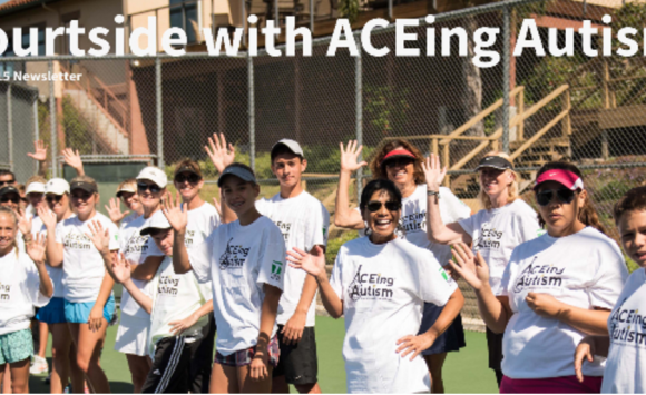 Newsletter – Court side with ACEing Autism July 2015