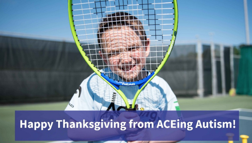 Newsletter – Happy Thanksgiving from ACEing Autism