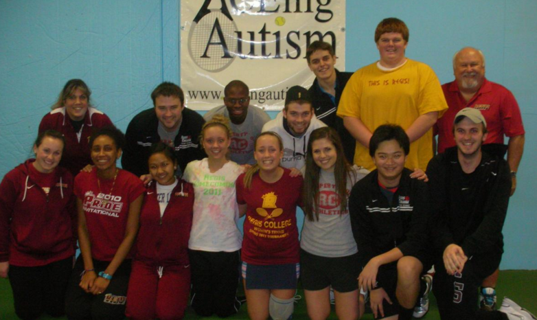 Regis pride reports – REGIS MEN'S AND WOMEN'S TENNIS TEAMS HELP OUT WITH ACEING AUTISM PROGRAM