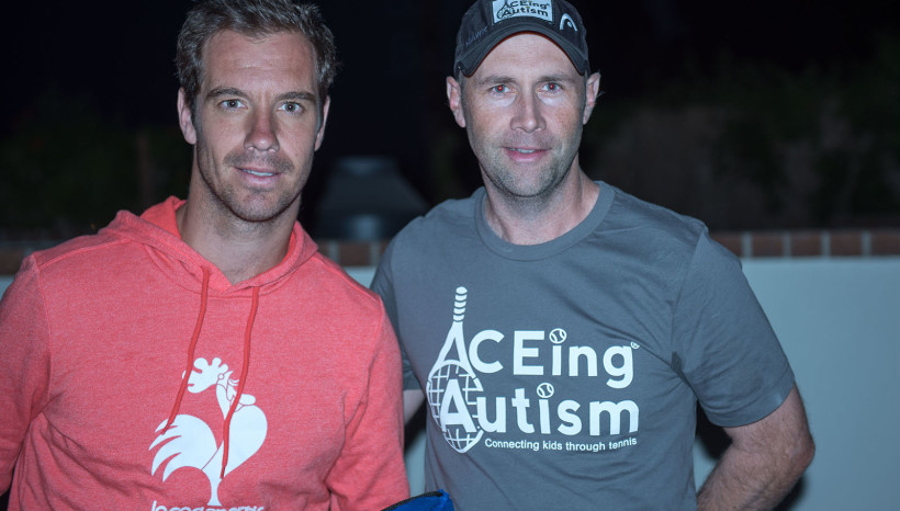 ACEing Autism at Tennis with the Stars with Cliff Drysdale