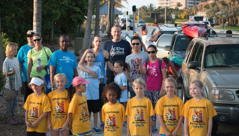The Stuart Racquet Run at Turtle Beach, FL by ACEing Autism