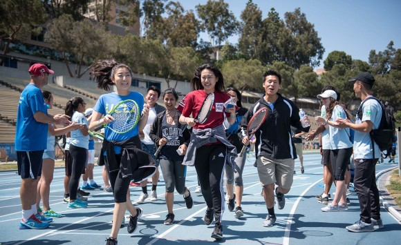 The Los Angeles Racquet Run at UCLA by ACEing Autism