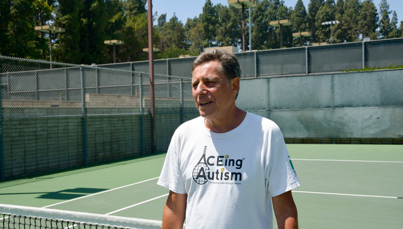 Learning and Teaching by ACEing Autism Program Director Harvey Rubin