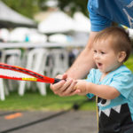 ACEing Autism introduced tennis to over 50 new children at Stephanie's Day with CBS News LA