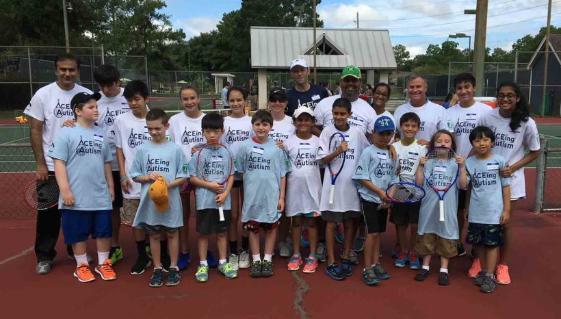 ACEing Autism launches new clinic at Cooperfield Racquet and Health Club, Houston TX