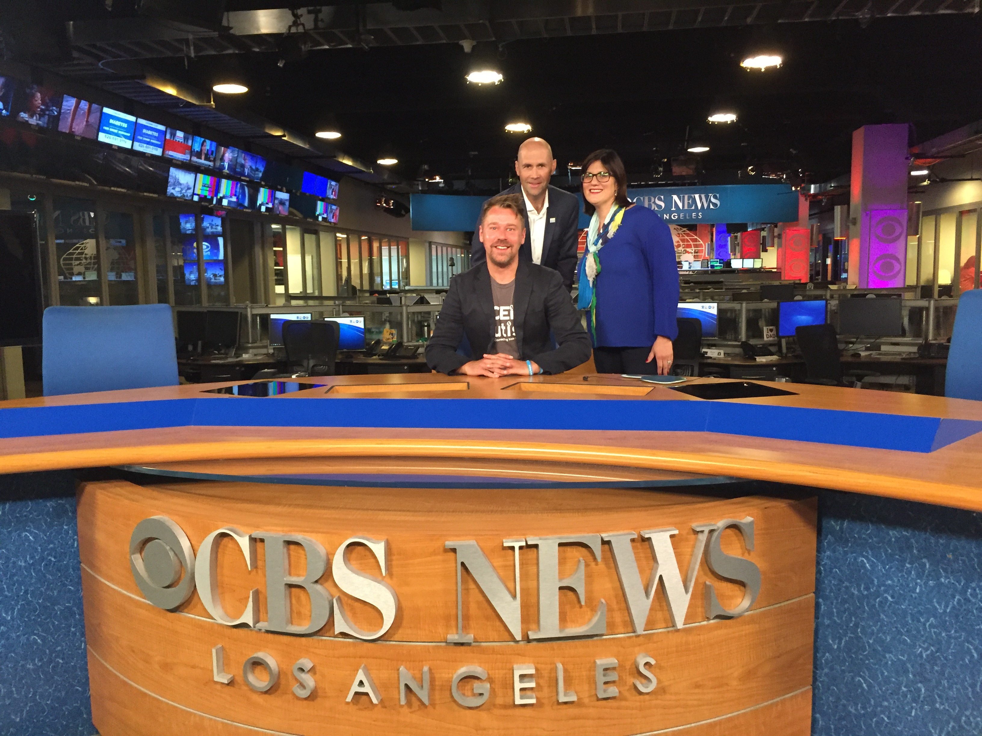 CBS News LA reports on ACEing Autism in preparation for