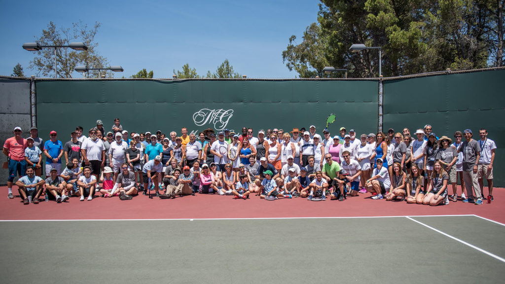 ACEing Autism celebrity tennis tournament hosted by Pam Shriver photographed by Alex Huggan