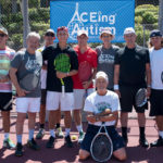 ACEing Autism's celebrity tennis exhibition at MountainGate Country Club