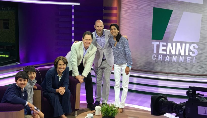ACEing Autism at Wimbledon 2016 – with Tennis Channel.