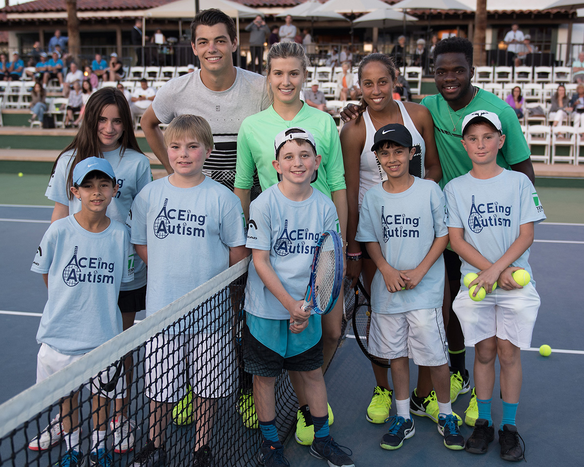 Tennis With The Stars 2017. Benefiting ACEing Autism. Hosted at Omni Rancho Las Palmas Resort & Spa