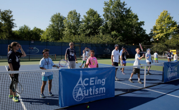 US Open Reports – ACEing Autism clinic brings awareness, opportunities